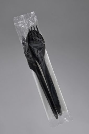 łyżka - widelec - nóż czarne